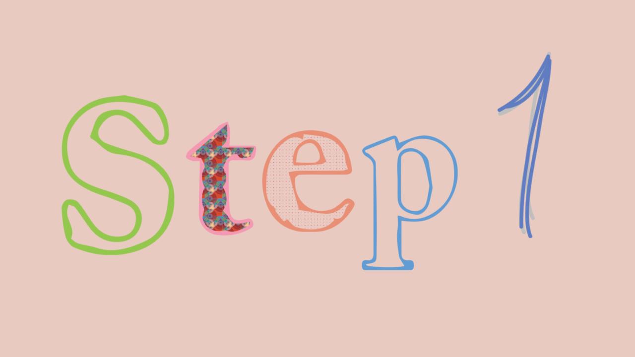 子育てを楽しむコツSTEP1