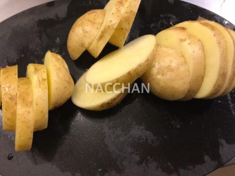 エビチリ風ジャガイモピザで使うジャガイモ