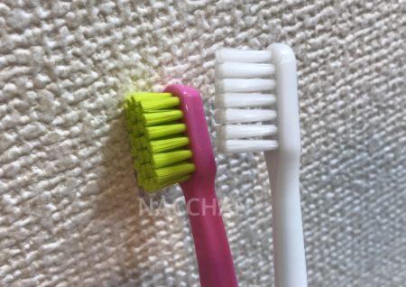 クラプロックスの歯ブラシは植毛数7600
