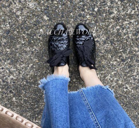 プラダ 靴修理してみた